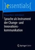 Cover 'Sprache als Instrument der Change- und Innovationskommunikation'