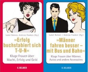 Cover 'Erfolg buchstabiert sich T-U-N' und 'Männer fahren besser - mit Bus und Bahn'
