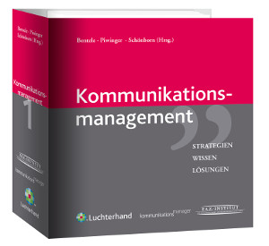 Cover 'Handbuch Kommunikationsmanagement'