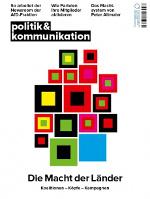 Cover 'Politik & Kommunikation' 9/2018