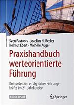 Cover 'Praxishandbuch werteorientierte Führung'