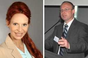 Kommunikations-Profis Diana Dorow und Claudius Kroker