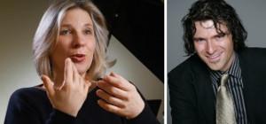 Stimmtrainerin Monika Drux und Diplom-Sänger Anno Lauten