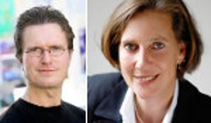 Medientrainer Matthias Fischer und Monika Geisler
