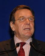 Portraitfoto von Bundeskanzler Gerhard Schröder