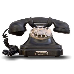 antikes Wählscheiben-Telefon