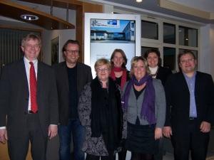 Gruppenfoto der bundesweit ersten Redenschreiber mit IHK-Zertifikat