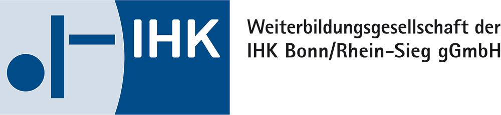 Logo IHK-Weiterbildungsgesellschaft Bonn/Rhein-Sieg