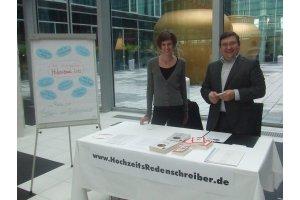 """""""Tag der Hochzeit"""" im Kameha Grand Hotel Bonn, 8.1.2012"""